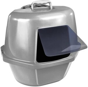 Van Ness Enclosed cat litter box for two cats