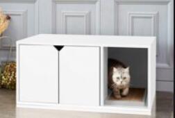 indoor kitty litter box