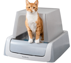 Petsafe scoop-free automatic hooded litter box