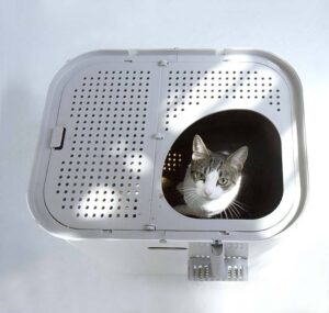 top entry litter box for large cats
