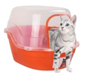 large litter box for messy cats