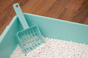 mineral for making kitty litter